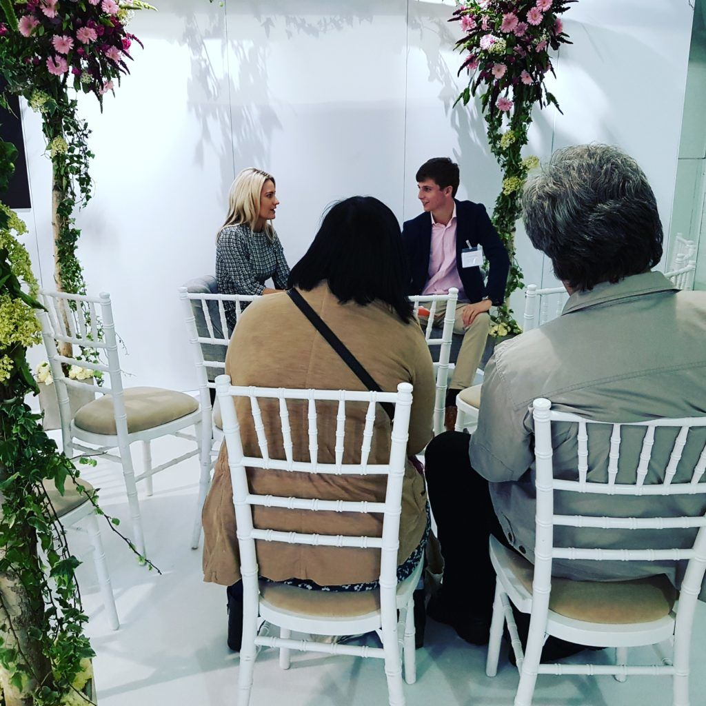 Aimee Dunne Luxury Wedding Fair beyond weddings planning pavilion