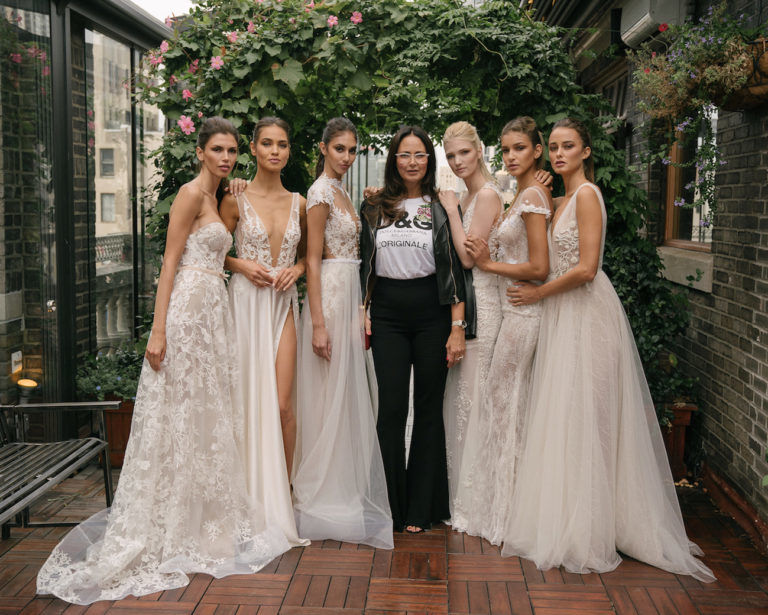 Exclusive look at the berta bridal fw18 collection junglespirit Choice Image