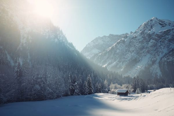 Austria Winter Wonderland Wedding